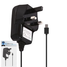3 Pin 1000 mAh UK MicroUSB Wall Mains Charger for BlackBerry 9810 Torch