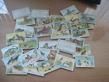 """PICK-A-CARD -GALLAHERS """"FABLES & THEIR MORALS""""   NOS: 1-50 - THICK-MORE ADDED"""