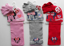 Minnie Mouse 3 Pz. Set inernale Ragazza Berretto, Sciarpa, Guanti Disney 52, 54