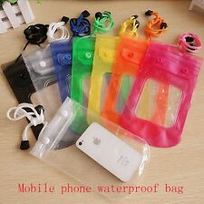 Waterproof Pouch Dry Case Cover For 5.5 inch Mobile phone water proof bag