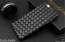 Imported Leather Weave pattern Skin Luxury Back Cover Case for iPhone 6 & 6S
