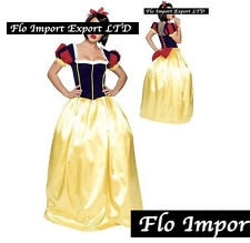 Biancaneve - Vestito Carnevale Donna Dress up Woman Snow White Costume SNWW02