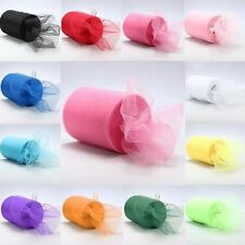 Wrap Fabric Tutu Party Craft Gift Wedding Decoration Tulle Roll Spool