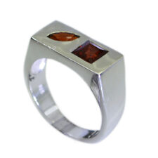 well-favoured Garnet Silver Red Ring jaipur L-1in IN 7,8,9
