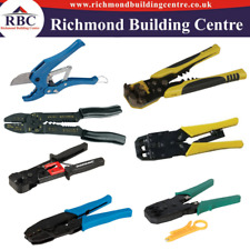 Wire Stripper & Crimping Tool Heavy Duty, Expert Ratchet Crimping Tool, Telecoms
