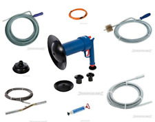 DRAIN AUGER WITH BRUSH, DRAIN CLEANER 5M, DRAIN CLEANER 10M, BLAST WASTEPIPE