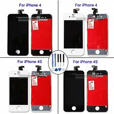 For iPhone 4 4G 4S LCD Touch Screen Display Digitizer Assembly Black / White UK
