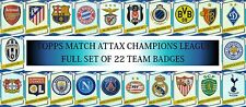 Topps Match Attax Champions League 16 17 Full sets of 22 Duo, Badge, Goal Kings