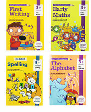 First Starting to Write Book Alphabet Early Maths spelling Practice Pre School