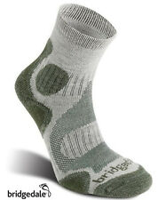 Bridgedale Coolfusion TRAIL DIVA Womens Hiking Socks Stone/Sage, S,M or L