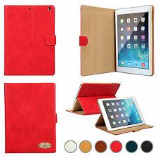 Smart Leather Flip Stand Luxury Designer Cases Genuine Cover For All Apple iPad