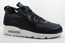 MEN'S NIKE AIR MAX 90 SNEAKERBOOT TECH SHOES black white 728741 002