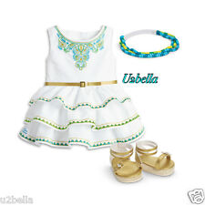 American Girl Lea Celebration outfit Dress New In Box Doll not included