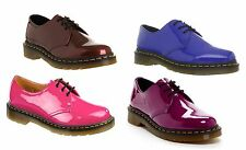 DOC. DR. MARTENS 1461 RED PATENT - BLACK PATENT - HOT PINK PATENT