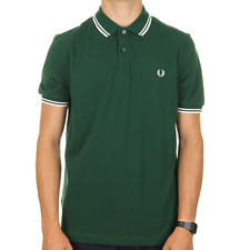 Fred Perry Twin Tipped Polo Shirt - Ivy