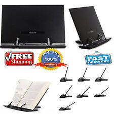Adjustable Book Reading Stand Portable Document Holder Bookstand Desk Cook Books