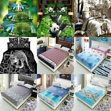 ONE-PIECE BED SHEET/ 4 - PIECE FITTED DUVET QUILT COVER BED SHEET PILLOWCASE SET