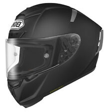 SHOEI X-SPIRIT 3 NEGRO MATE Carrera De Motos casco de carreras