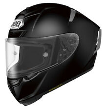 SHOEI X-SPIRIT 3 NEGRO BRILLANTE Carrera De Motos casco de carreras