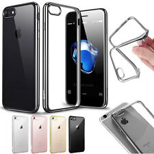Slim Shockproof Silicone Gel Clear Rubber Back Case Cover For iPhone 6