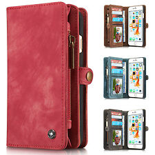 Luxury Leather Magnetic Wallet Card Flip Case Cover For Apple iPhone 6