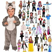 TODDLER BOYS FANCY DRESS COSTUMES PARTY GIRLS OUTFIT WORLD BOOK DAY KIDS 3-4 AGE
