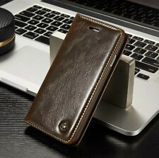 Leather Wallet Card Holder Phone Case Flip Cover Stand For Apple iPhon