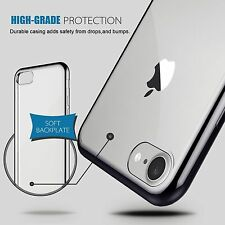 Gel TPU Crystal Clear Soft Shockproof Cover Case for iPhone 7 & iPhone