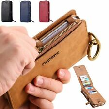 FLOVEME Luxury Retro Leather Wallet Phone Case Cover For Apple iPhone