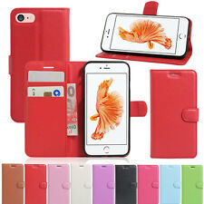 Shockproof Slim Leather Flip Stand Wallet Case Cover For Apple iPhone