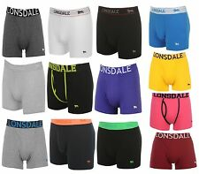 6x LONSDALE Young Underwear Boxer Shorts Underwear Panties Kinder Trunks
