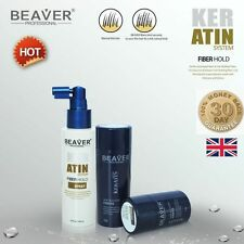 Beaver Hair Loss Regain Fibres Thickening Building Fibers Concealer Spray XL NEW