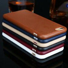 Fashion Soft TPU Leather Ultra Thin  Back Case Cover For Apple iPhone