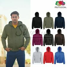 Fruit of the Loom FOTL - Premium 70/30 Hooded Sweatshirt Jacket Hoodie