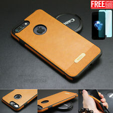 Luxury Ultra-thin TPU PU Leather Back Skin Case Cover For Apple iPhone