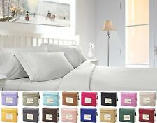 1800 Count 4 Piece Deep Pocket Bed Sheet Set