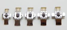 Stainless steel  Push Button Butterfly Clasp Buckle watch buckle watch strap