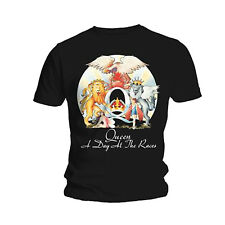 Queen A Day At The Races Freddie Mercury Rock officiel T-shirt Hommes unisexe