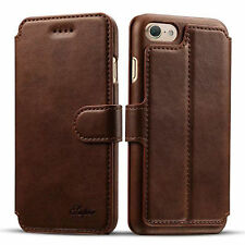 Luxury Leather Flip Cover Wallet Card Phone Case Stand For Apple iPhon