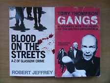 Blood on the Streets: A-Z of Glasgow Crime + Gangs: British Underworld (2 p/b's)
