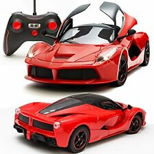 Sunshine Gifting Remote Control Car, Opening Doors, Rechargeable, Ferrari Design