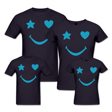 Smile Star - Family T-shirts - Set Of 4