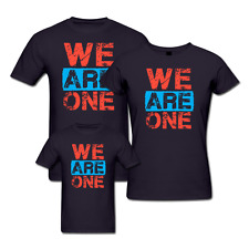We Are One - Family T-shirts - Set Of 3