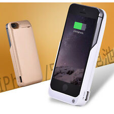 Power Case External Power Bank Battery Case Charger Cover For iPhone 5 5S SE