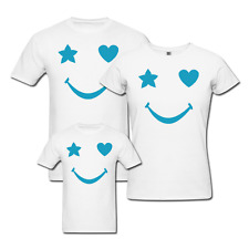 Smile Star - Family T-shirts - Set Of 3