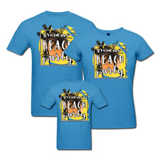 Beach Party - Family T-shirts - Set Of 3