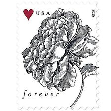 Vintage Rose Sheet of 20 USPS Forever Stamps 1 sheet of 20 Stamps Free Shipping