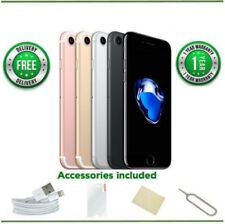 Apple iPhone 7 - 32GB/128GB/256GB - All Colours - Network Locked -Various Grades