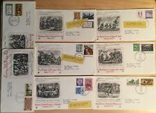 Americes Bicentennial Covers, of 8, From1970s.