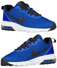 NIKE AIR MAX TURBULENCE LS MEN's M RUNNING RACER BLUE - WHITE - BLACK NEW S
